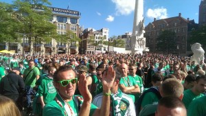 Rapid Wien in Amsterdam