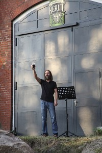 Greg Koch, co-founder of Stone, toasts you!