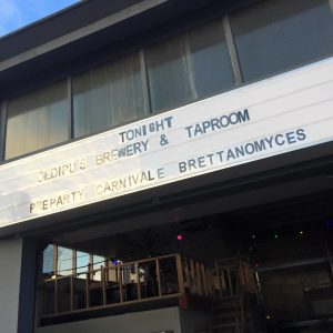 Oedipus hosted opening and closing of Carnivale Brettanomyces