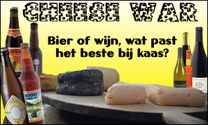 Cheese War - wine, and beer, are both winners!